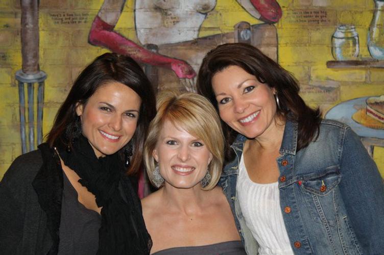 ENVP Christy Dreiling, ENVP Valerie Edwards and ENVP Linda Loveless.