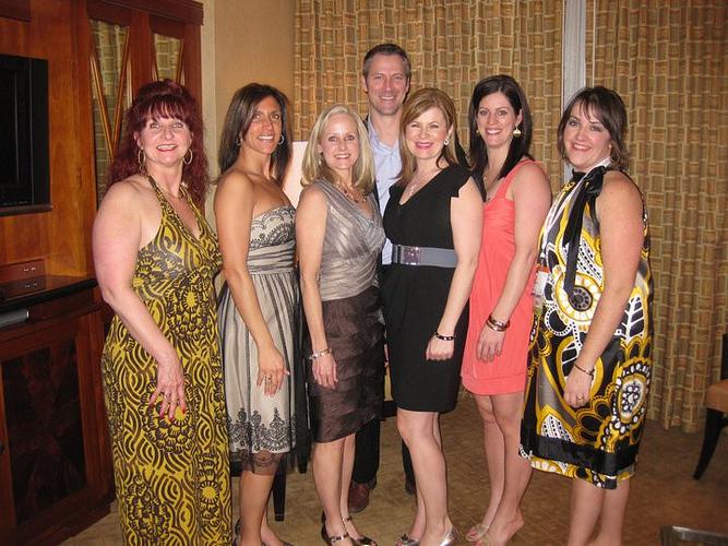 AM Rita Green, Gina, ENVP Sheila Howard, Denis Bazinet, AM Julie Grier, AM Michelle Bazinet and DM Monika Paquette.