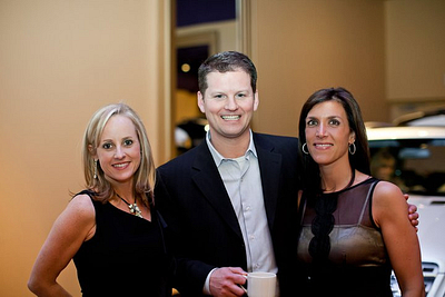 Gina with husband, Stephen and upline, ENVP Sheila Howard. }}