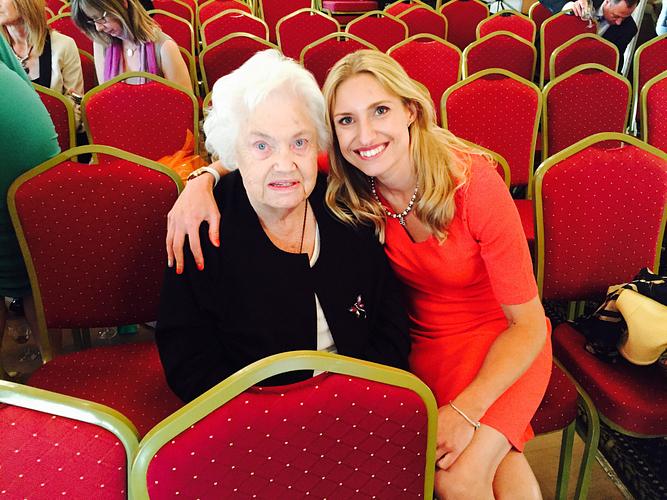 Zoe's first female role model, Granny Ward.
