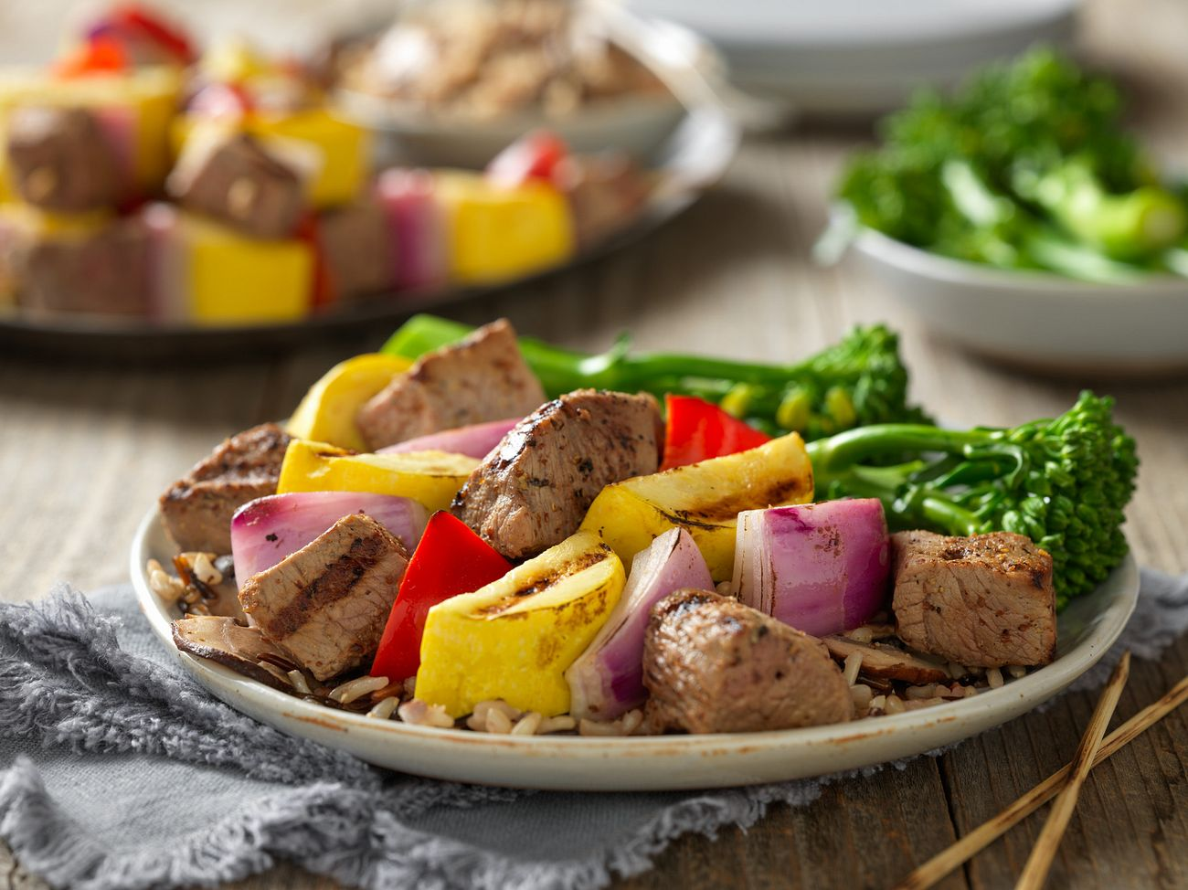 steak-kabobs-and-wild-rice-with-mushrooms-horizontal