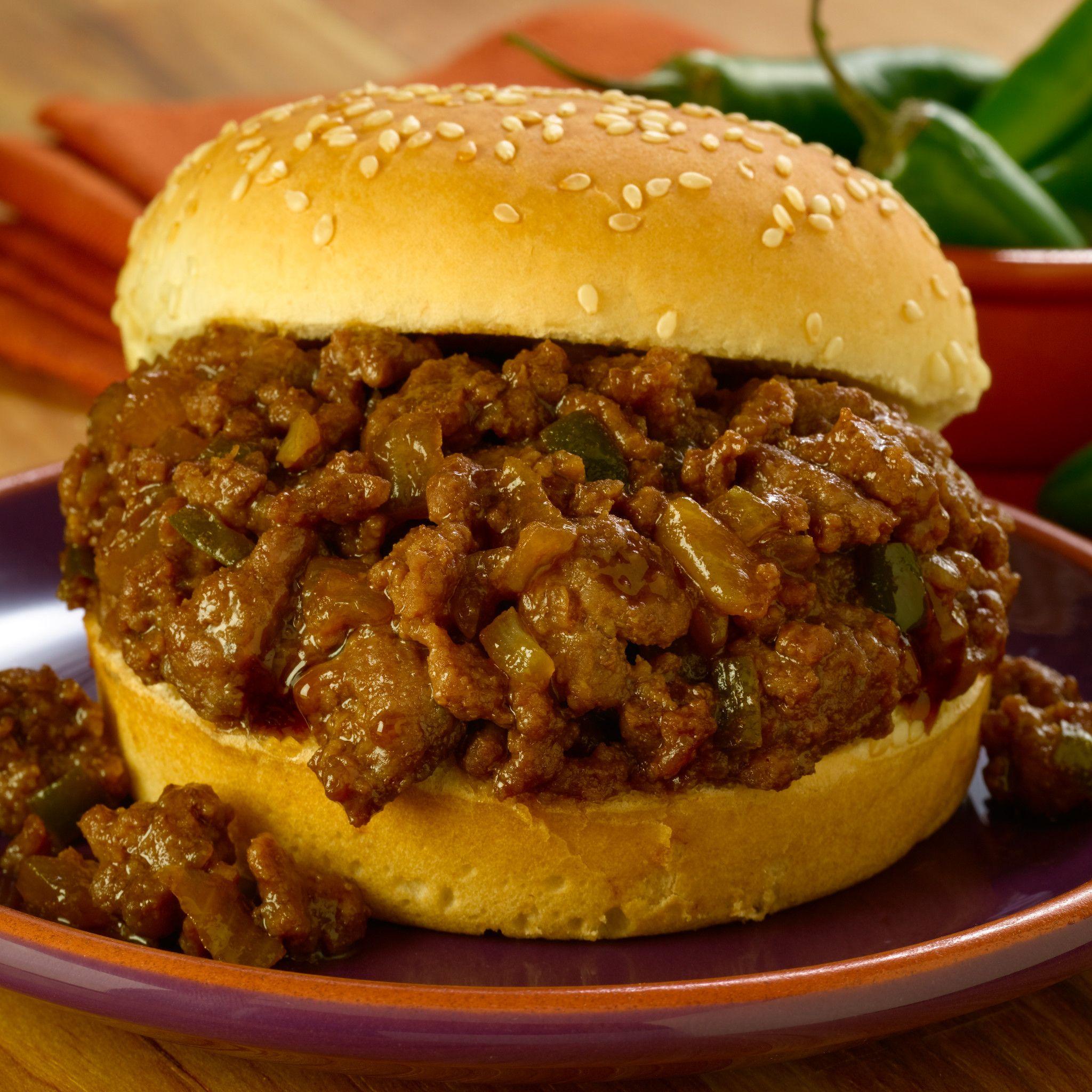 recipe: how many calories in a sloppy joe with bun [25]