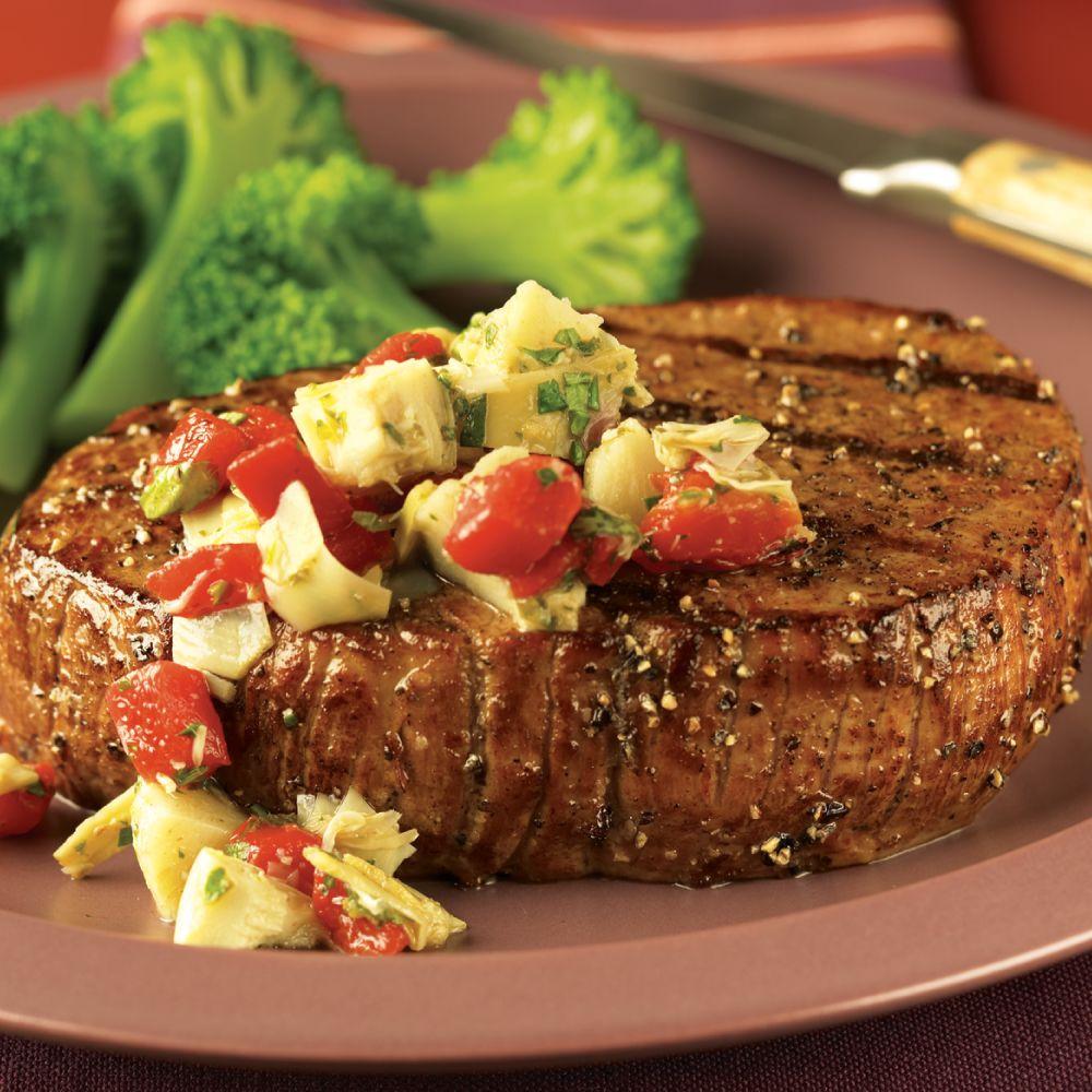 Mediterranean Eye of Round Steaks