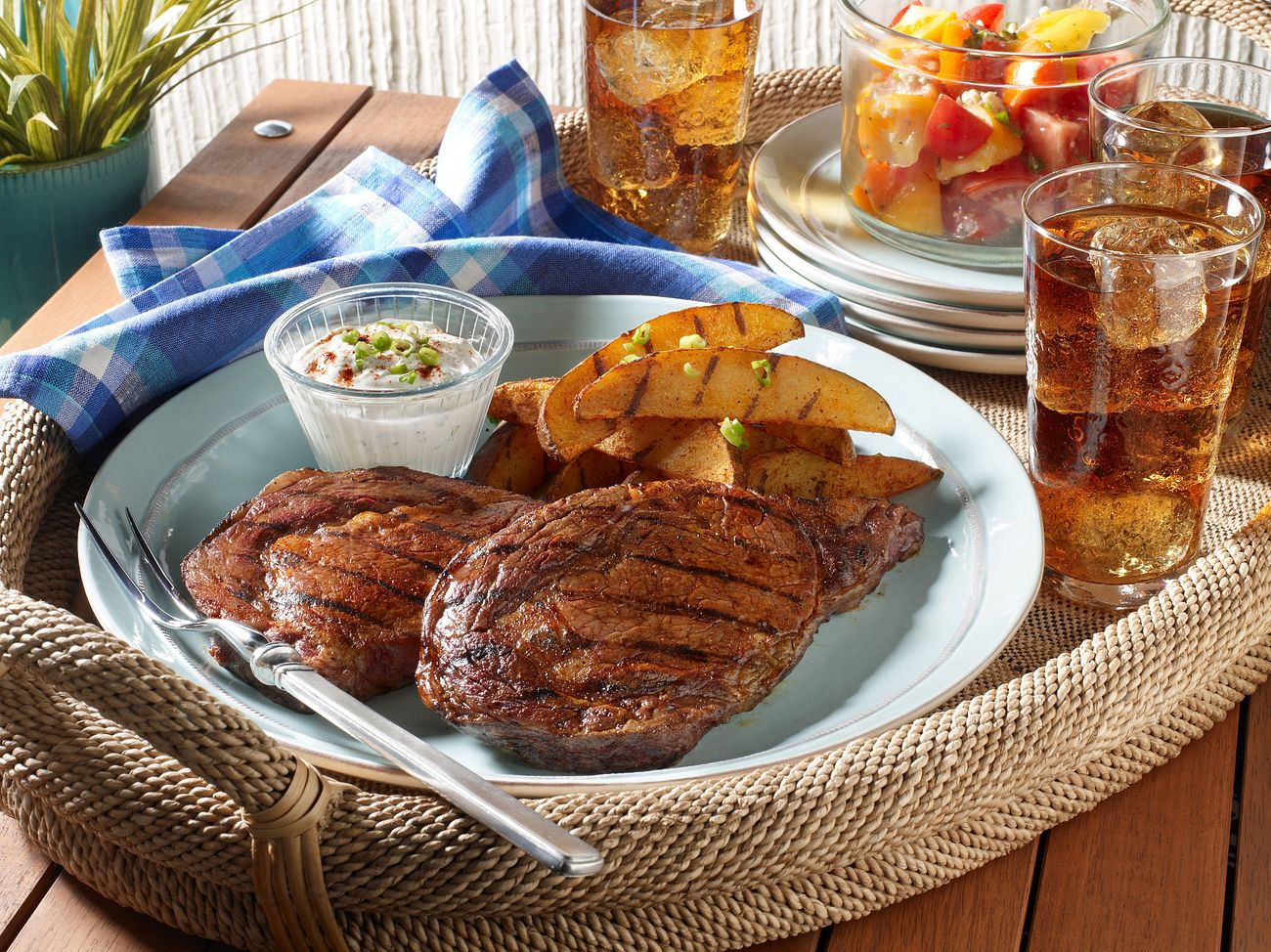 grilled-ribye-steaks-and-potatoes-with-smoky-paprika-rub-horizontal