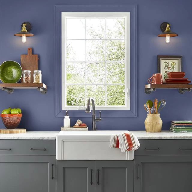 Kitchen painted in BEST IN CLASS