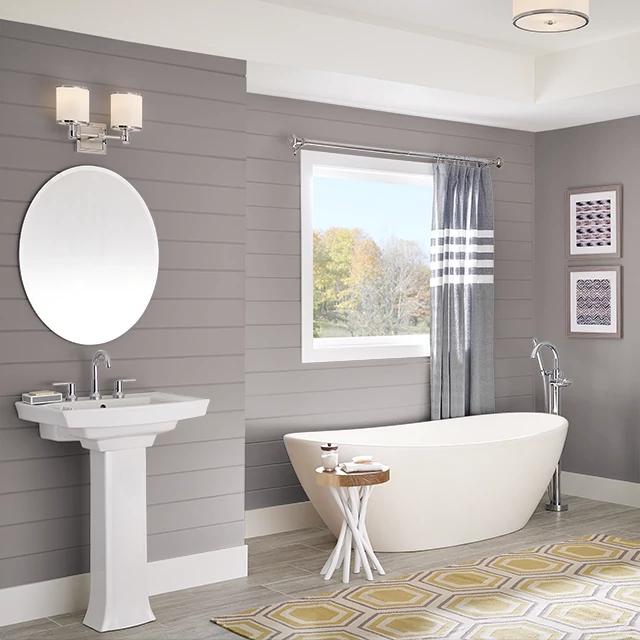 Bathroom painted in FORLORN