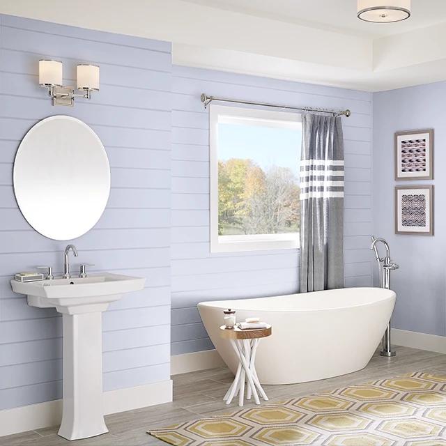 Bathroom painted in PIXIE