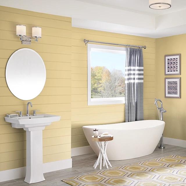 Bathroom painted in ORGANIC INGREDIENT
