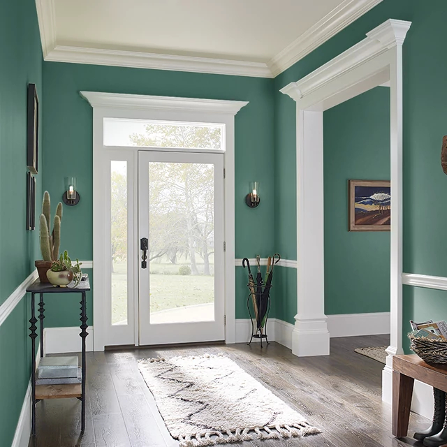 Foyer painted in ARGYLL