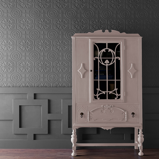 CHALK painted in CAMEO CORAL