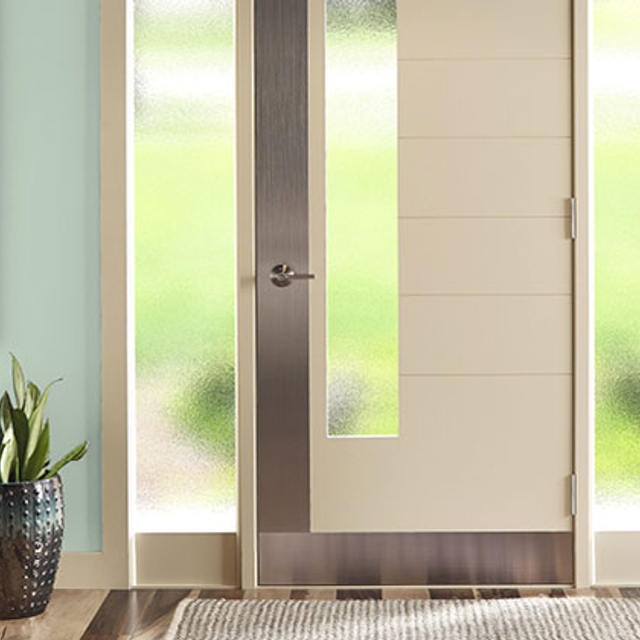 Entryway painted in RESTFUL RETREAT