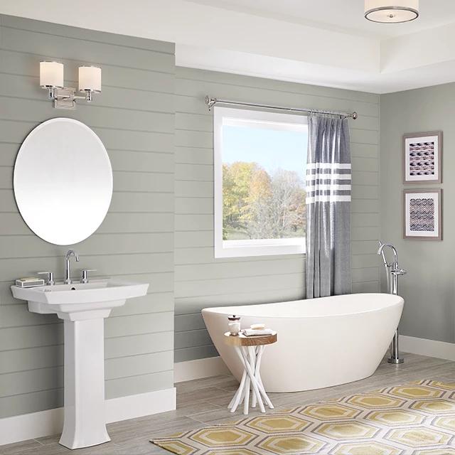 Bathroom painted in SIMPLY NEUTRAL
