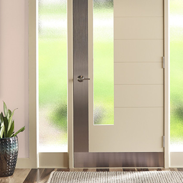 Entryway painted in ANGELIC PINK