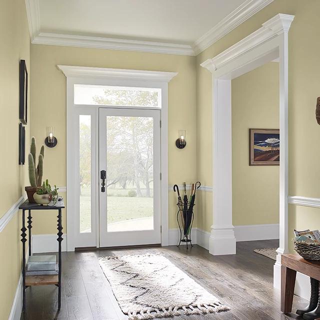 Foyer painted in SEASON'S CHANGE