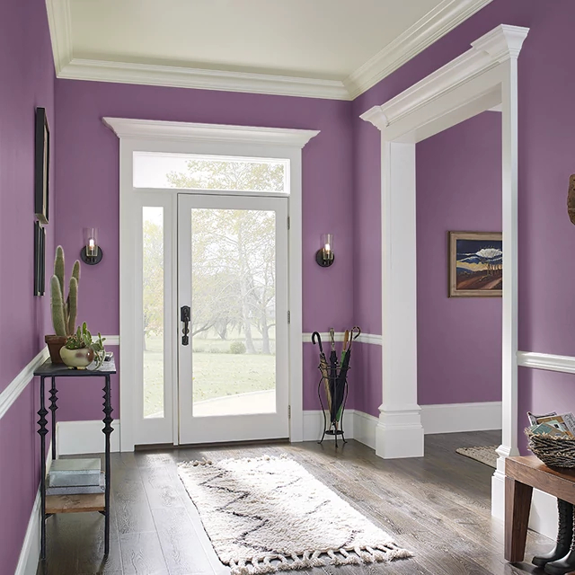 Foyer painted in CUPID