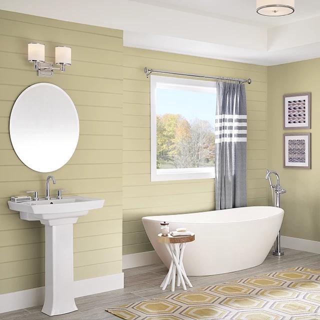 Bathroom painted in SEASON'S CHANGE