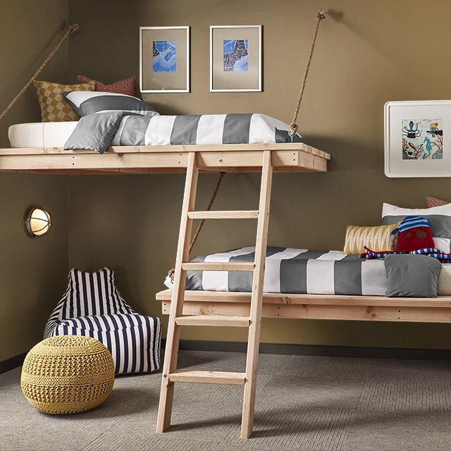 Kids painted in TEA AND HONEY