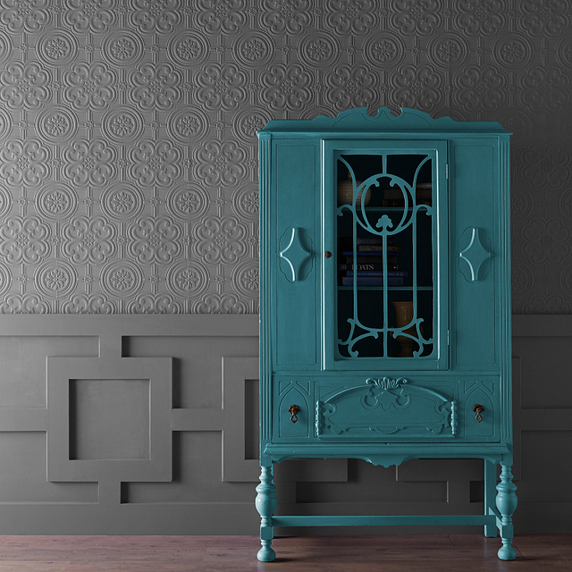 CHALK painted in BASIC TEAL