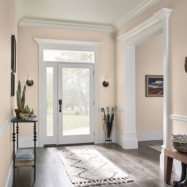 Foyer painted in FLOPPY HAT