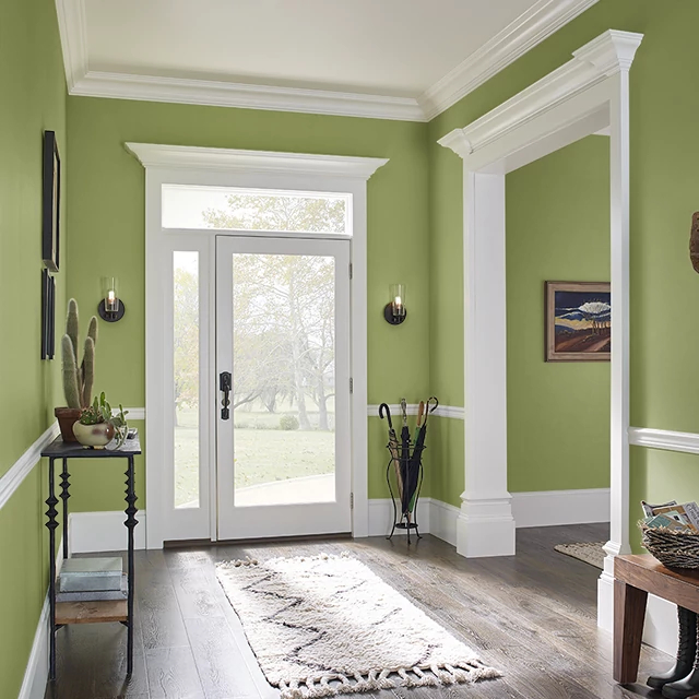 Foyer painted in FARMER'S ROAD