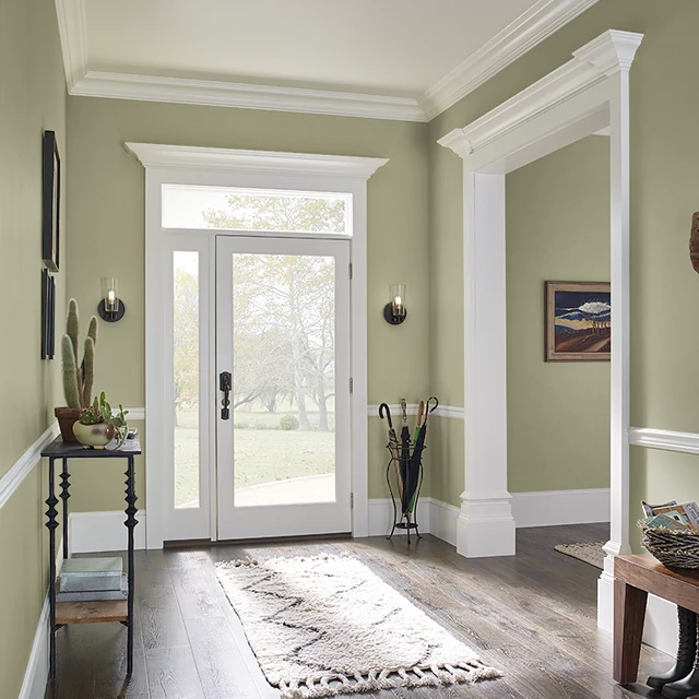 Foyer painted in EXPEDITION