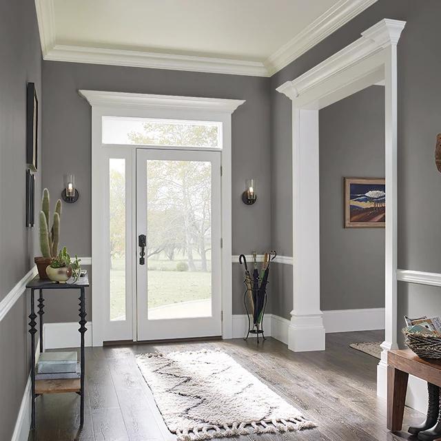 Foyer painted in UNDERGROUND