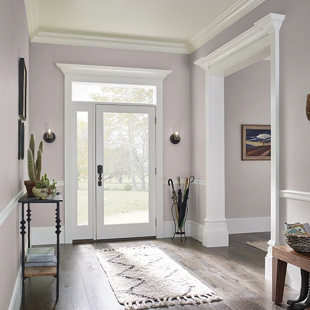 Foyer painted in NATURAL ECHO