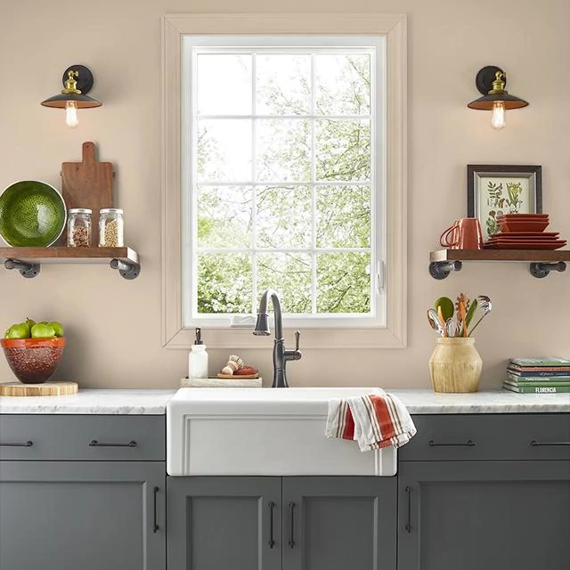Kitchen painted in RANCH HOUSE