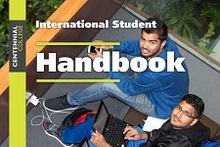 Picture of the Centennial College International Education Handbook 2014-2015