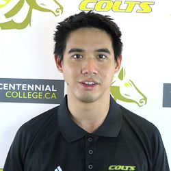Picture of Centennial College Colts Volleyball Coach Mathew Cheung