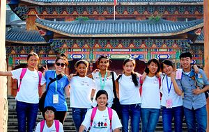 Students from GCELE in China