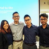 Picture of Centennial College Thales Innovation Championship winners