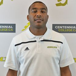 picture of centennial college colts womens basketball coach ryan mcnelly