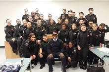 Meeting the Chief: Police foundations students hear from Mark Saunders Image