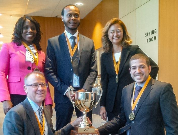 Financial Planning Students Win Gold at the Eastern Regional Financial Planning Case Challenge