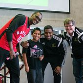 picture of Centennial College Alumni Kareem Rodney at a Beyond the Rim event
