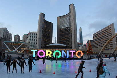 Picture of Nathan Phillips Square Ice Rink