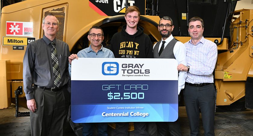 Heavy Duty student wins Gray Tools competition