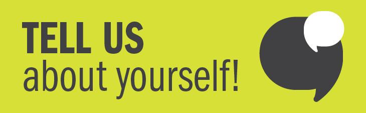 说说你自己吧!