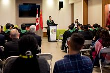 College presidents from China get some Canadian exposure Image