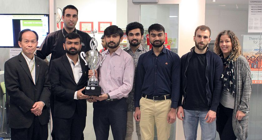 picture of the Led young College 2018 Tech Fair winners