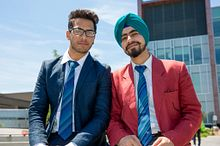 Picture of two Centennial College students