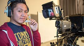 Photo of student of program related to Film and TV in Centennial College