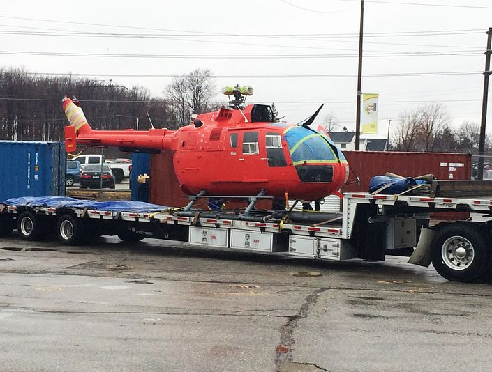 School of Transportation adds Coast Guard helicopter to fleet