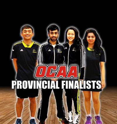 Badminton players who made provincials 2016