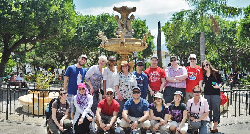 Picture of Centennial College students on a global experience opportunity in Nicaragua