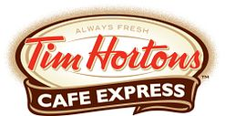Logo of Tim Hortons a myCard food partner