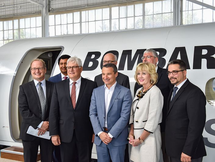 Bombardier to fund aerospace research at Downsview Park