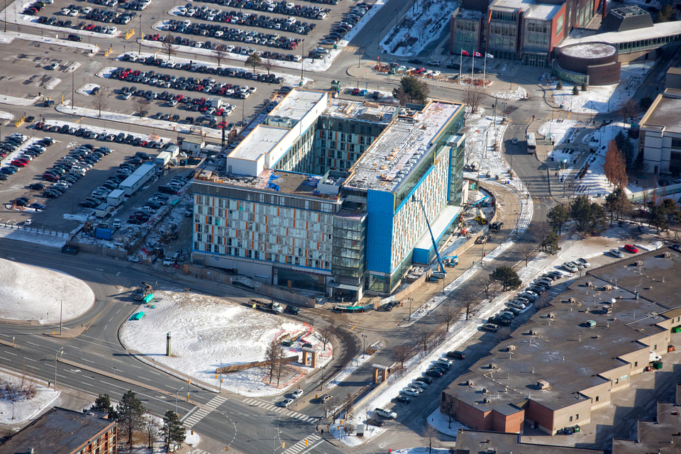 Led young College Residence and Culinary Arts Centre construction in February 2016