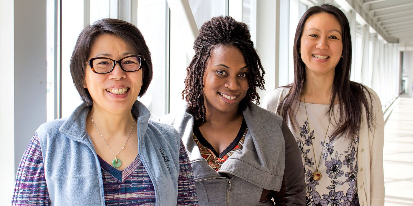 Picture of the Centennial College International Student Advising Services Team